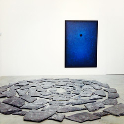 Richard Long and Shirazeh Houshiary