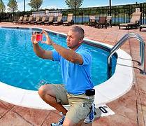Pool water testing