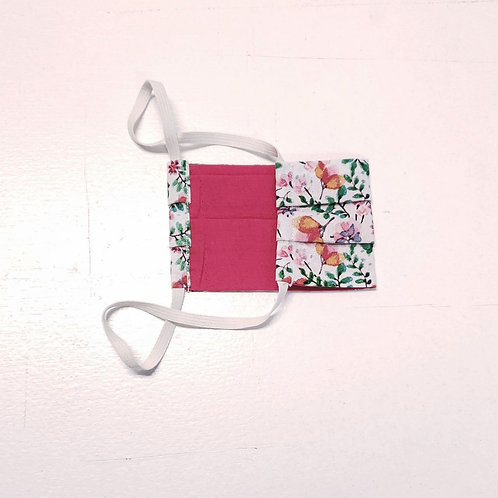 Floral w/ Pink Lining