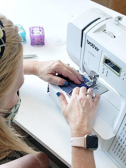 Sewing Machine Crash Course // Face Mask // Multiple Dates Ava