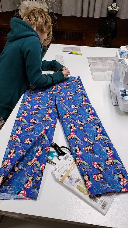 Kids! Pajama Pants // Begins Oct. 6th // 3 Weeks // Tuesdays 5-8pm
