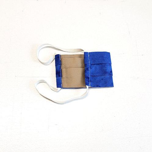Tie Dye Blue w/ Tan Lining