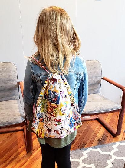 Kids: Drawstring Bag // Multiple Dates Available