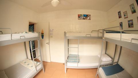 Comfy shared room