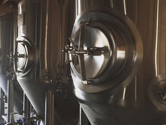 Brew tanks ✔️ ready to brew #beergarden