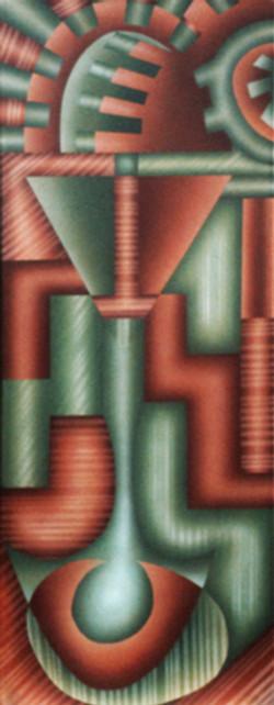 Espacios laterales. 1983