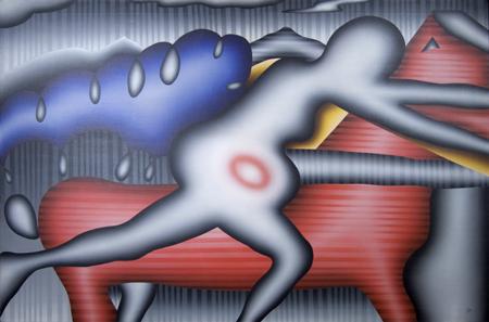En la lucha por la vida. 1987