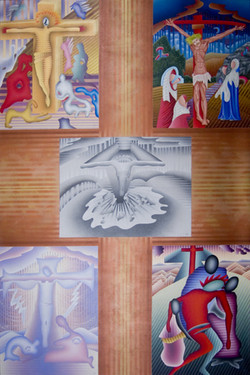 Crucifixión. 1989/1990