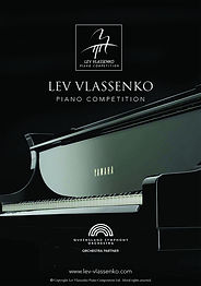 Lev Vlassenko Piano competition booklet.