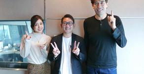 FMラジオ J-WAVE 「STEP ONE」に出演しました。