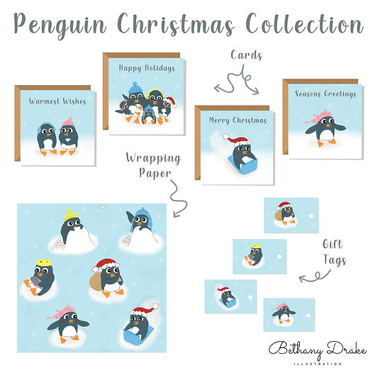 Penguin Christmas Collection Mock Up 1.j