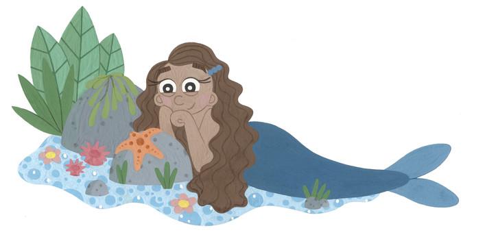 Tidepool Mermaid