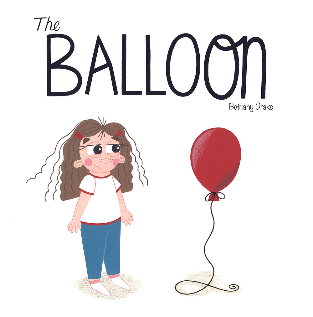 'The Balloon' Picturebook Front Cover