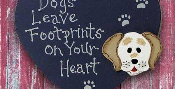 Dog Footprints - WD1197