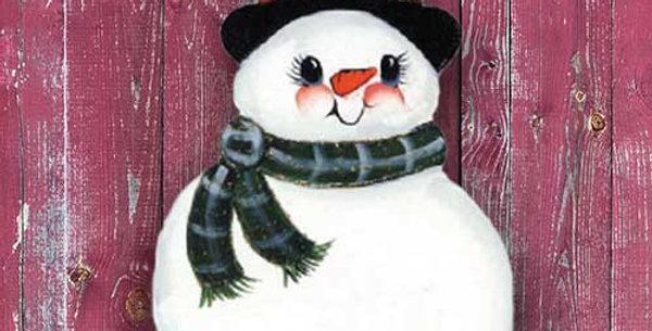 Wooden Snowman - WD1164