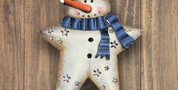 Snowman with Hat - OR-349