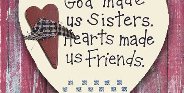 God Made Us Sisters - WD1611