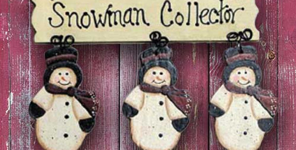 Snowman Collector - WD1117