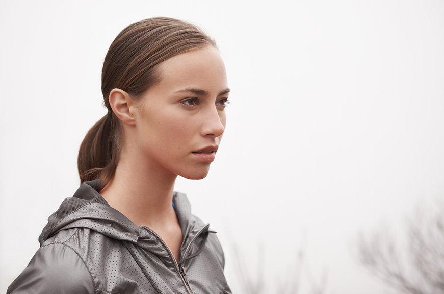 Girl in Sports Jacket