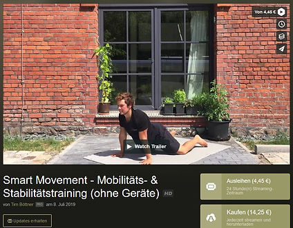 Smart Movement Vimeo
