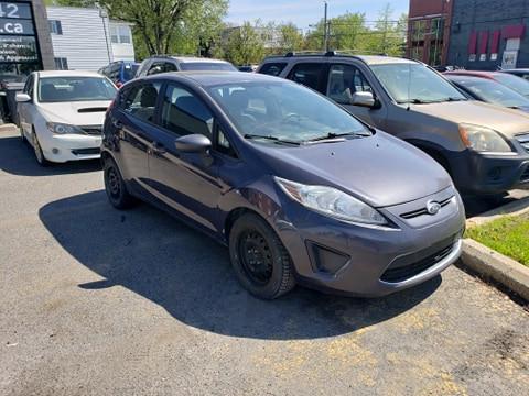 Ford Fiesta SE 2012 automatique  Prix: 4495$