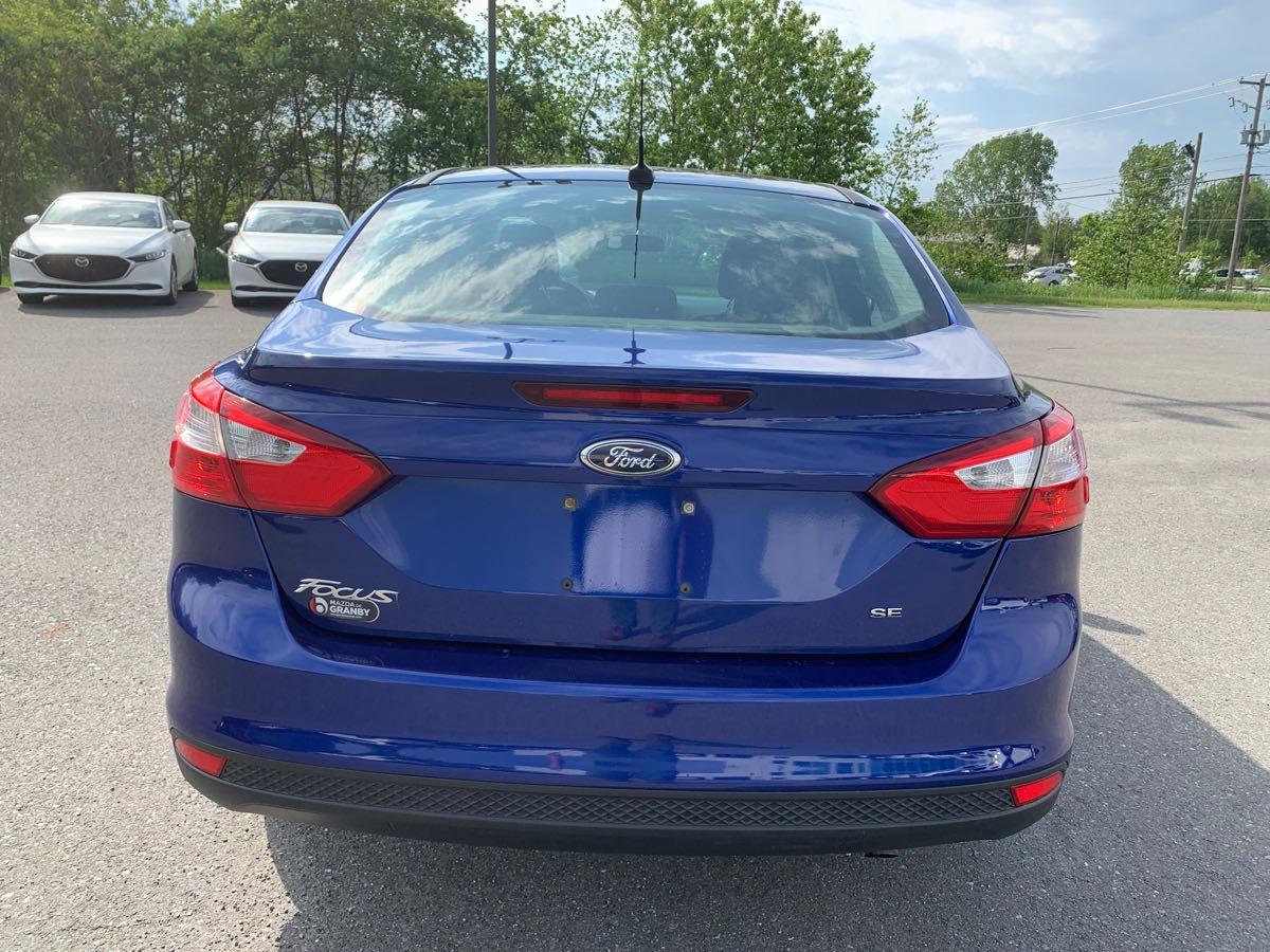 Ford Focus 2012, Automatique a