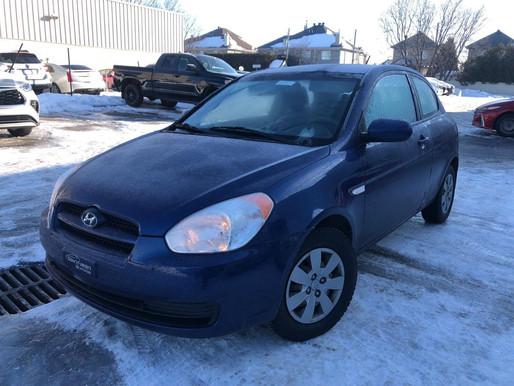 Hyundai Accent 2011 automatique avec 140 390 km.  Prix: 3495$