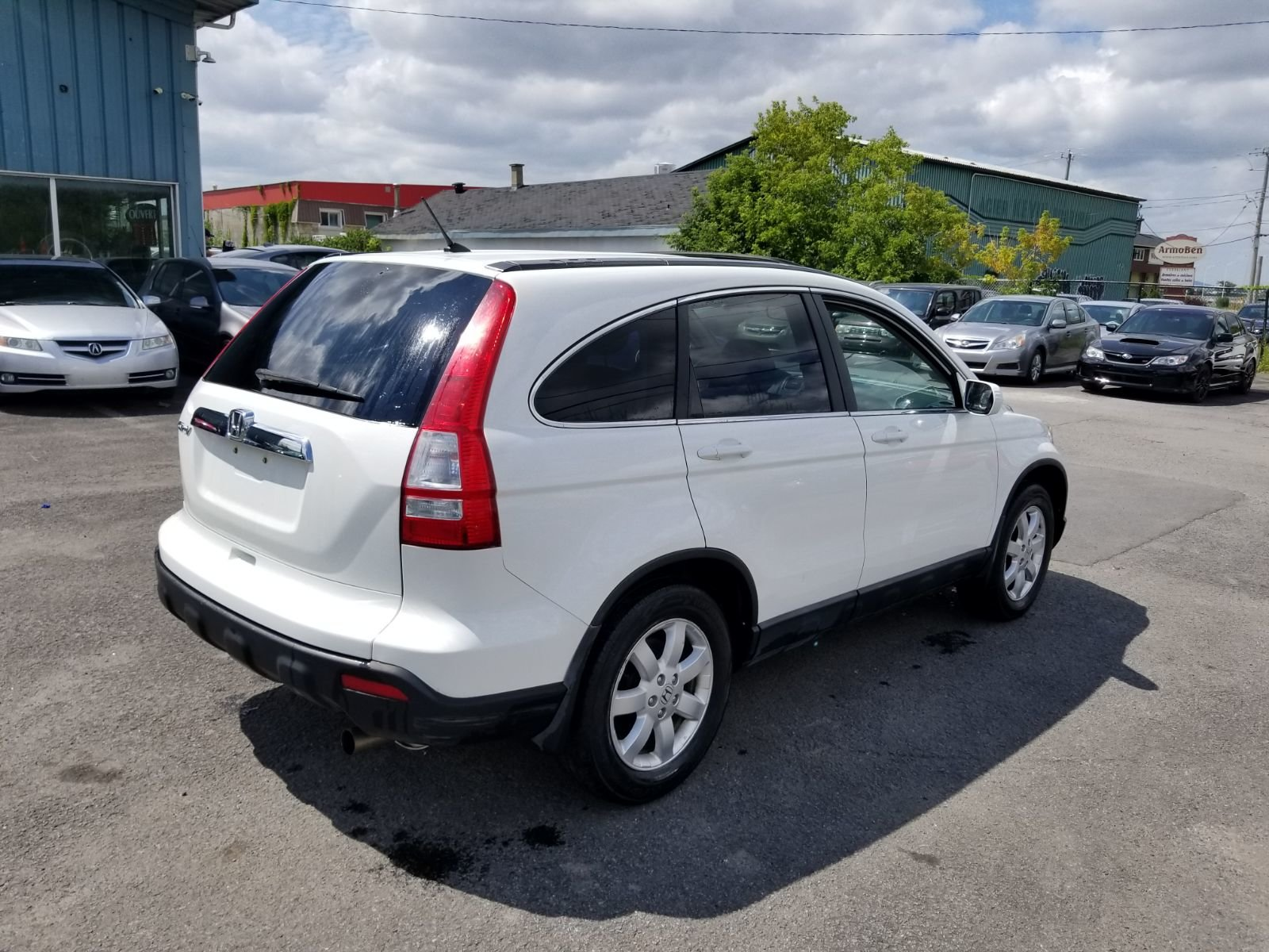 VENDU! HONDA CR-V 2008 EX-L à vendre à Beloeil
