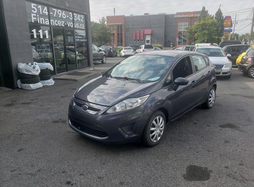 Ford Fiesta SE 2012 automatique Bluetooth Prix: 4495$