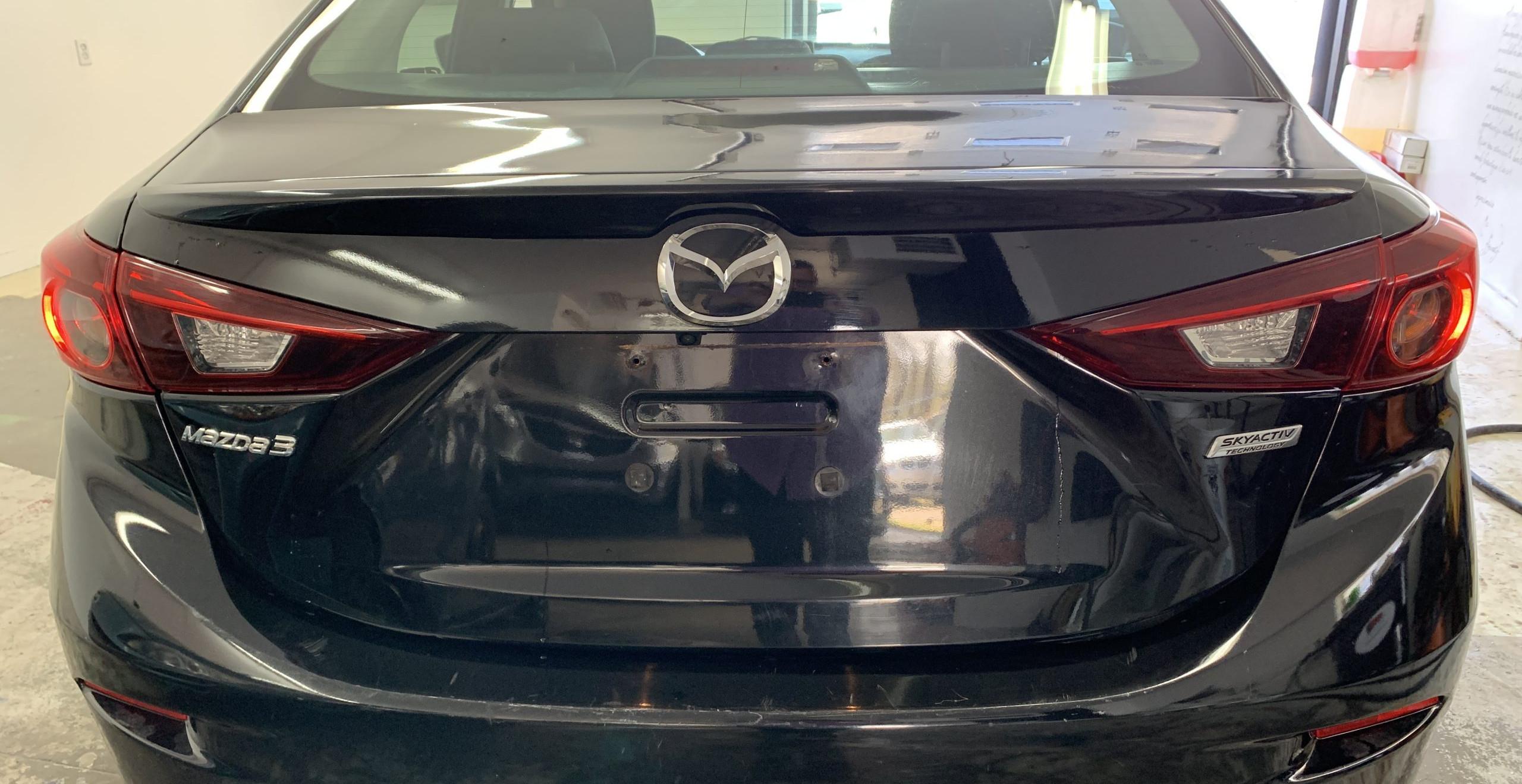 Mazda 3 Gs 2015 manuelle noir