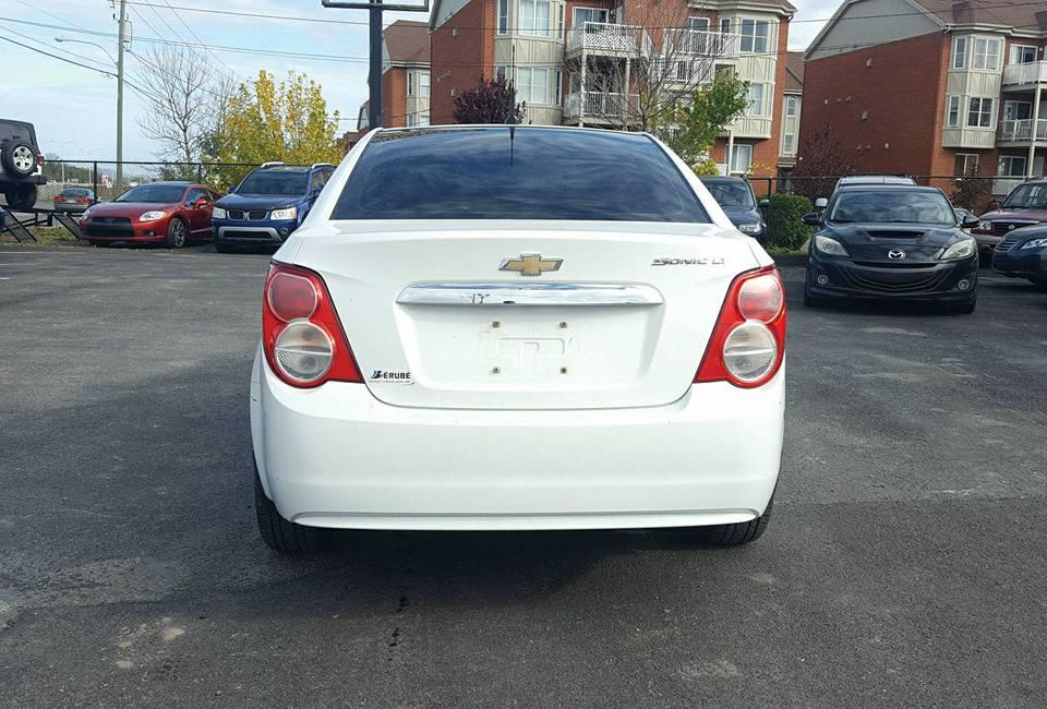 Chevrolet Sonic 2012 Automatique à vendre beloeil