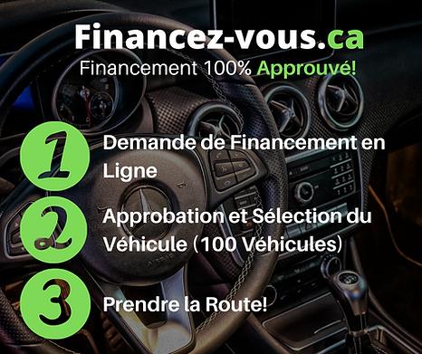 financement d'autos usagés