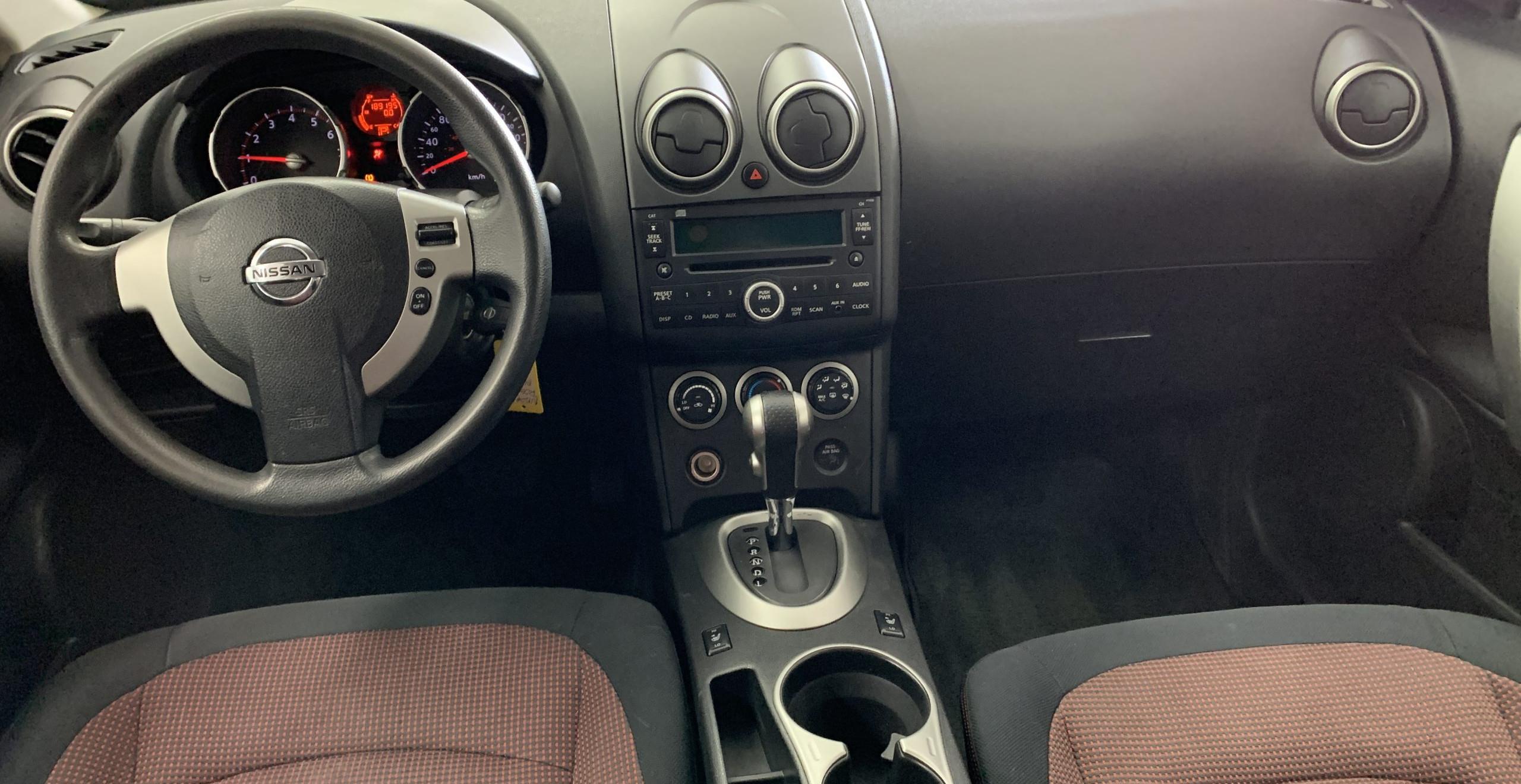 Nissan Rogue SL 2009 noir