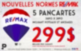 Saint-Hubert pancarte remax meilleur prix coroplast, affiches, poteaux et ancrages