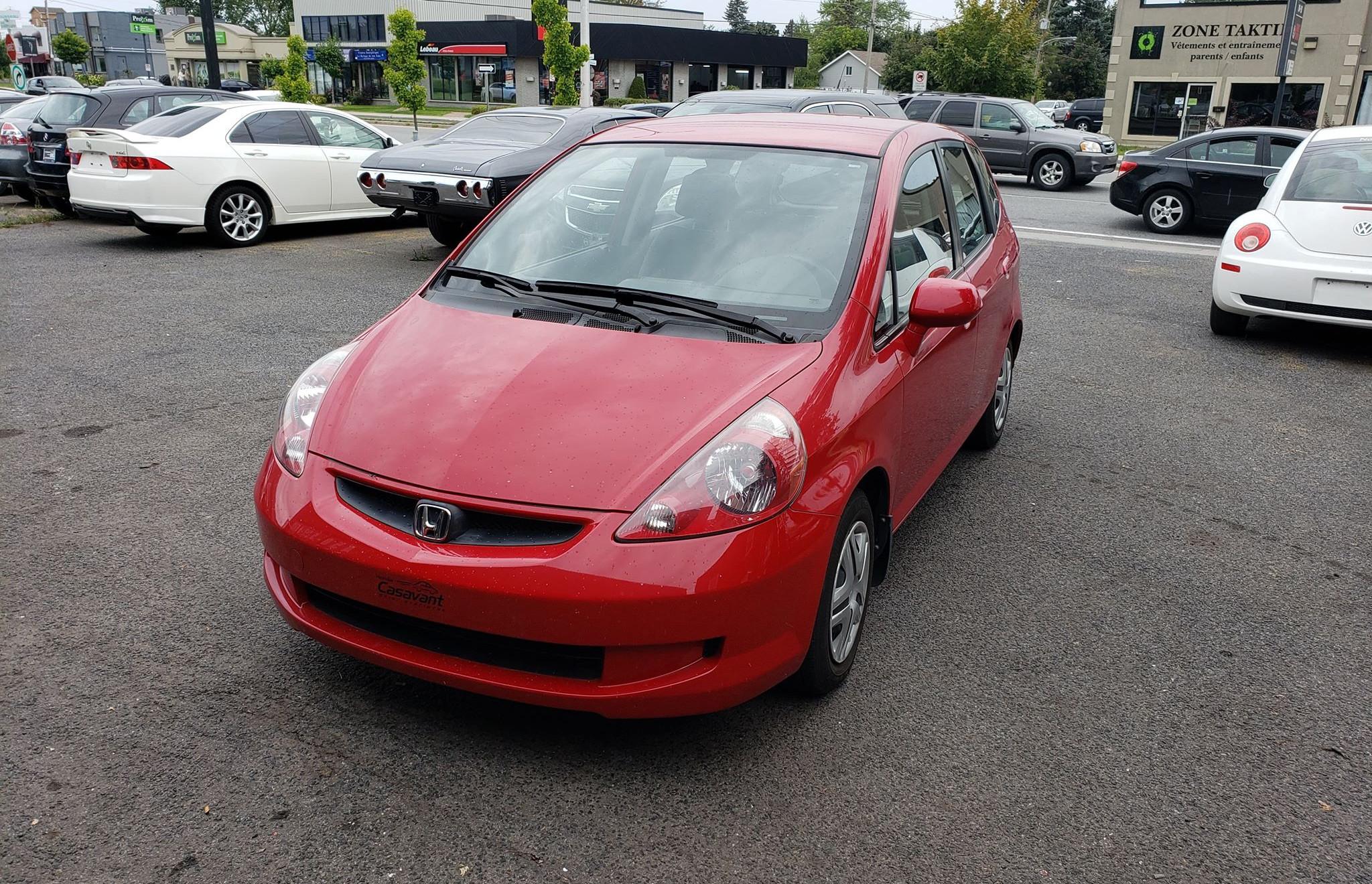 Honda Fit 2008 manuelle avec 91 349 km seulement ! 4495$