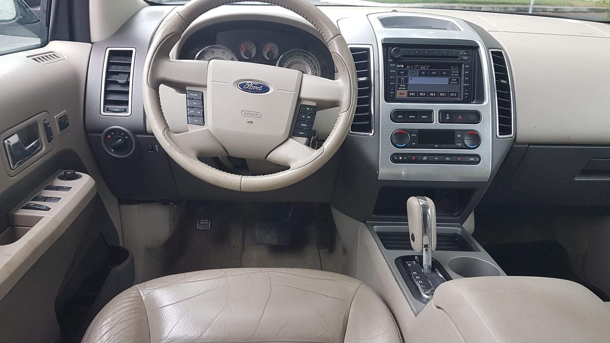 Ford Edge 2007 SEL 3.5L V6 4WD cuir , dvd, nav 5995$