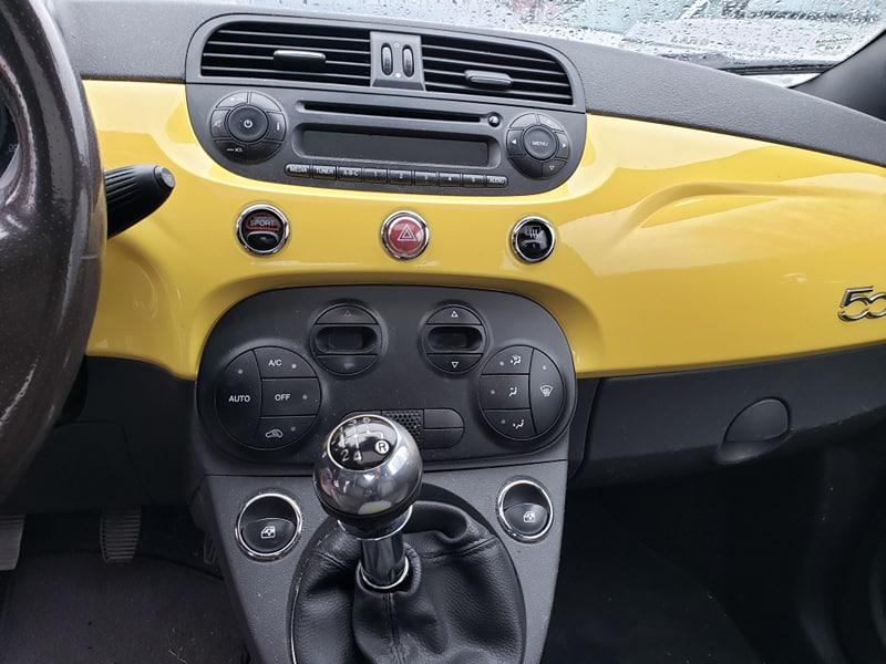 Fiat 500 2012 manuel avec 193 200 km. Prix: 5995$