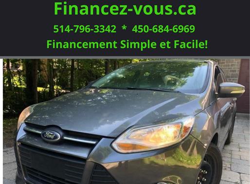 Ford Focus SE 2.0L 2014, Seulement 128 475 KM, Prix : 6995$