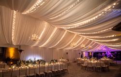 Traditional Chandelier & String Lights