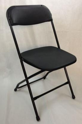 Chair Black Folding