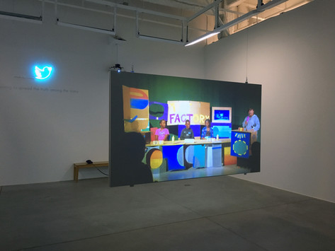 60 WRD/MIN ART CRITIC Review: The Broadcast