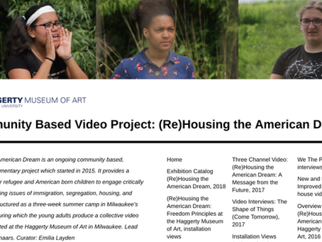 Updated project website: (Re)Housing the American Dream
