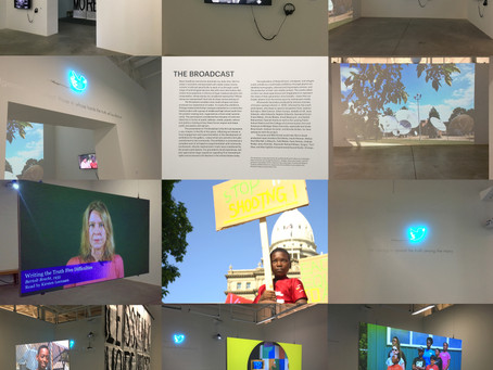 The Broadcast at the Broad Museum of Art, MSU, East Lansing showing until April 5