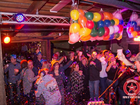 New Years Eve 2017 - Thank you Whiskey Ranchers!