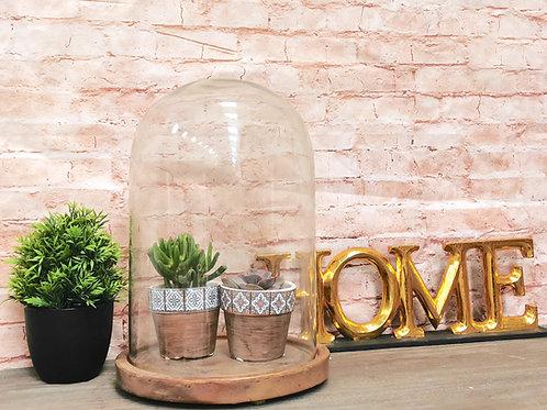 Copper Base Bell Jar