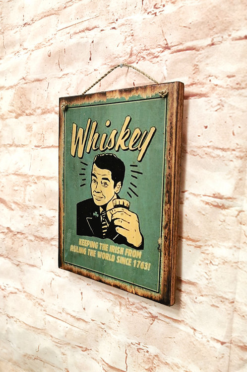 Whiskey Print