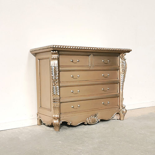 Bombay Chest Champagne Gold