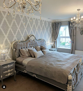 Palais French Grey White Accents