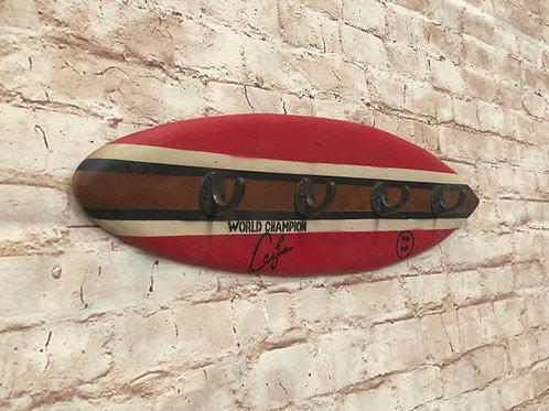 Surfboard Key Hooks