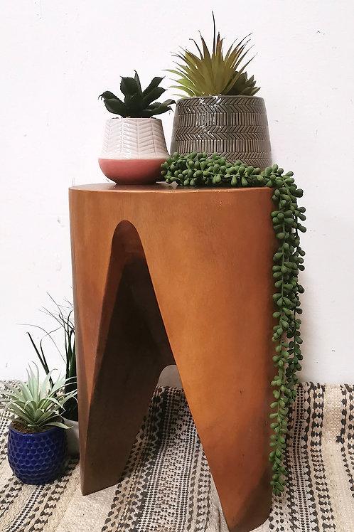 Retro 3 Leg Side Table / Stool